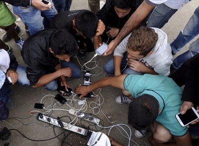 Problema carga móviles cables