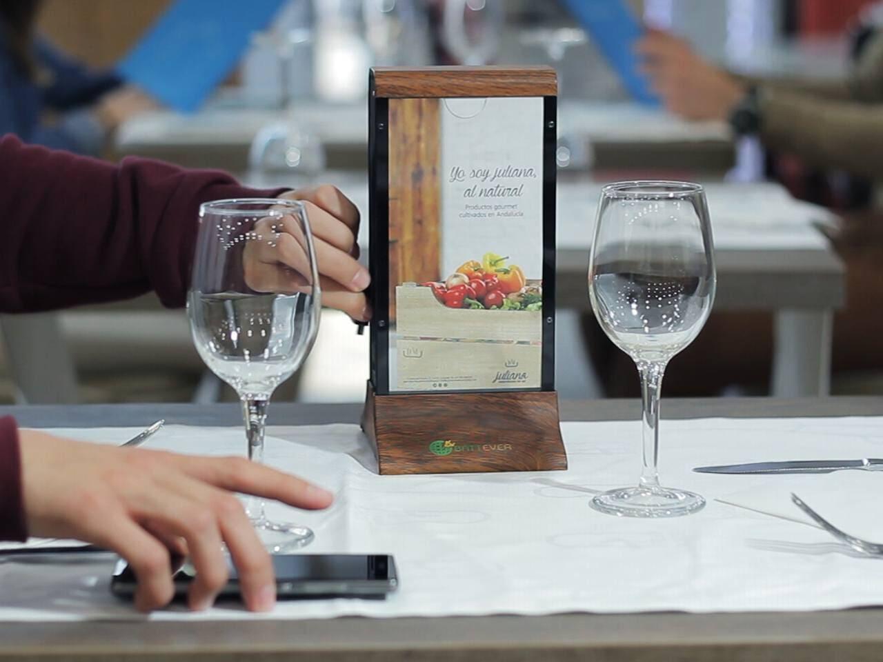 Cargador Batería para Restaurante