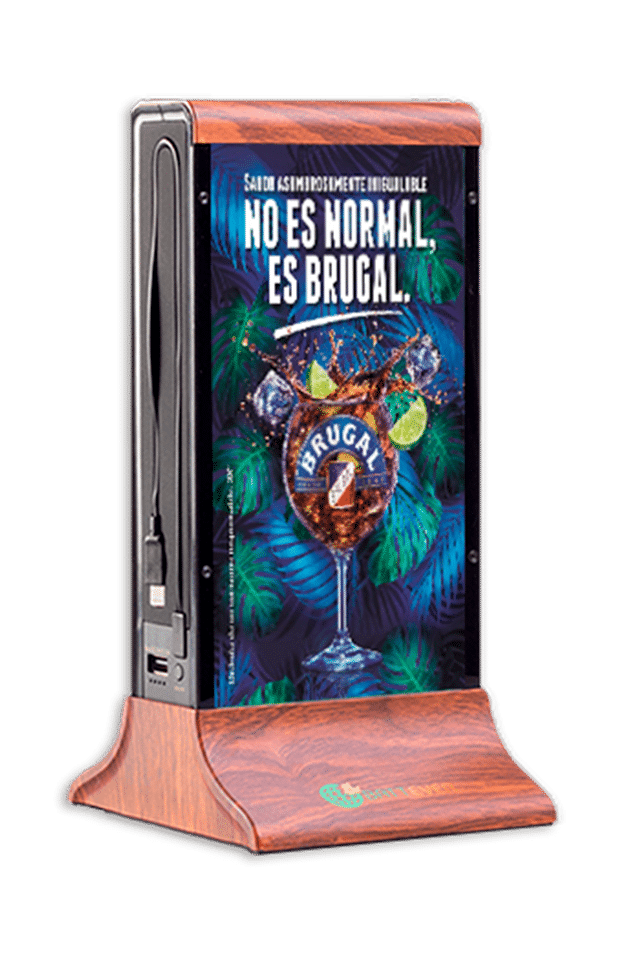 Caricabatterie e porta menu: Battever Classic