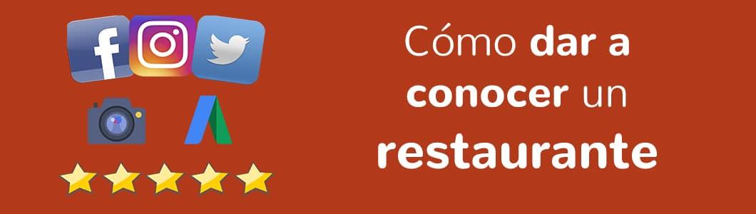 Cómo dar a conocer un restaurante