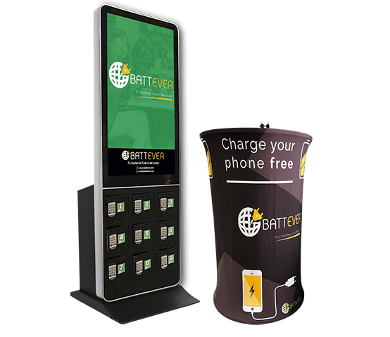 Mobile charging stations for business and events