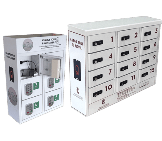 mobile phone Charging lockers