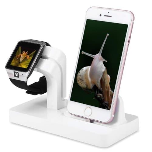 Estaciones de carga para smartphone y smartwatch