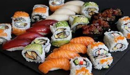 Sushi como tendencias gastronómicas