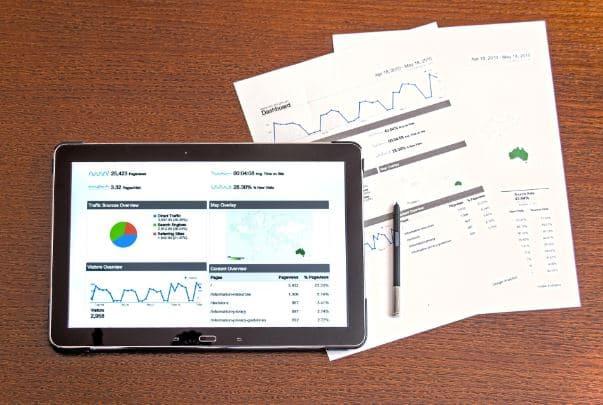 datos en evento corporativo