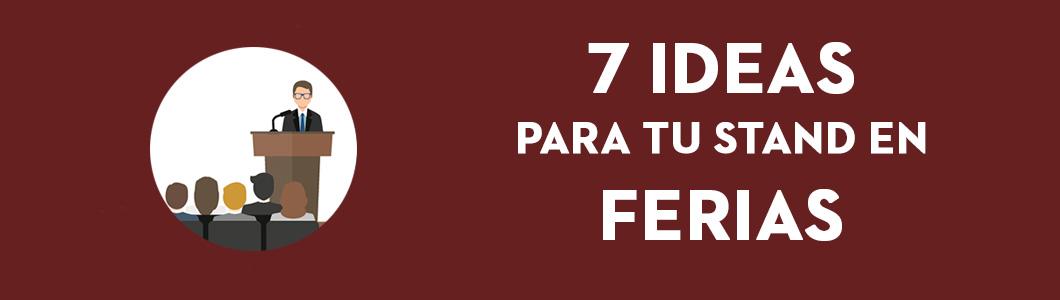 7 ideas para tu stand en ferias