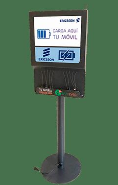 Estação de carga fixa para móveis