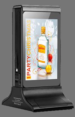Caricabatterie portatile a doppio schermo