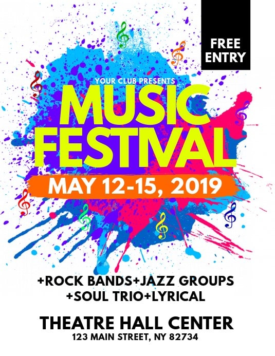 line-up festival